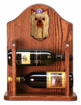 Yorkshire Terrier Wine Rack -Standard