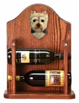 Yorkshire Terrier (puppy clip) Wine Rack -Standard
