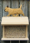Cairn Terrier Bird Feeder-Wheaton