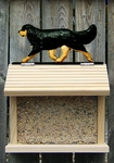 Cavalier King Charles Spaniel Bird Feeder-Black & Tan
