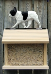 French Bulldog Bird Feeder-Pied