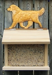 Golden Retriever Bird Feeder-Light