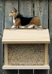 Welsh Corgi (pembroke) Bird Feeder-Sable