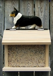 Welsh Corgi (pembroke) Bird Feeder-Tri