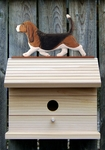 Basset Hound Bird House-Tri