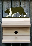 Border Collie Bird House-Black