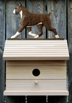 Boxer Bird House-Brindle
