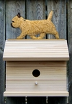 Cairn Terrier Bird House-Wheaten