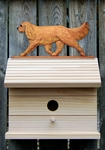 Cavalier King Charles Spaniel Bird House-Ruby