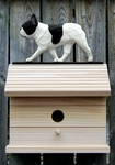 French Bulldog Bird House-Pied