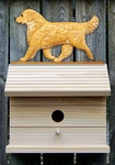 Golden Retriever Bird House-Light