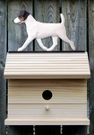 Jack Russell Terrier Bird House-Tri