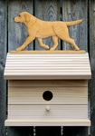 Labrador Retriever Bird House-Yellow