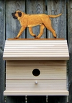 Mastiff Bird House-Apricot