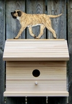 Mastiff Bird House-Fawn Brindle
