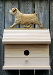 Norfolk Terrier Bird House-Wheaten