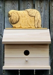 Pekingese Bird House-Fawn