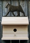 Pug Bird House-Black