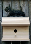 Scottish Terrier Bird House- Brindle