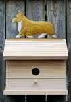 Welsh Corgi (pembroke) Bird House-Blonde