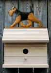 Welsh Terrier Bird House-Standard