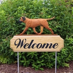 Bullmastiff DIG Welcome Stake -Red