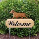 Dachshund (smooth) DIG Welcome Stake-Red