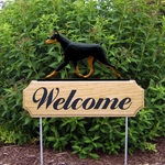 Doberman DIG Welcome Stake-Black/Tan