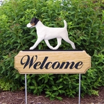 Jack Russell Terrier DIG Welcome Stake-Tri