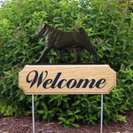 Pug DIG Welcome Stake-Black