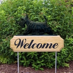 Scottish Terrier DIG Welcome Stake- Brindle