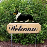 Welsh Corgi (pembroke) DIG Welcome Stake-Tri