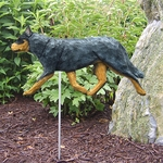 Australian Cattle Dog Garden Stake-Blue
