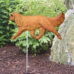 Cavalier King Charles Garden Stake-Ruby