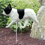 French Bulldog Garden Stake-Pied