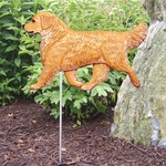 Golden Retriever Garden Stake-Light