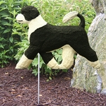 Portuguese Water Dog Garden Stake-Irish