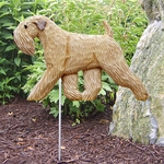 Soft Coated Wheaten Terrier Garden Stake-Standard