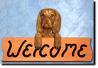Sussex Spaniel Welcome Sign
