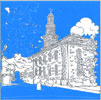 Christ Church Notes - Sky Blue