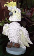 BobbleBirds Parrot Bobblehead Sulfur-crested Cockatoo