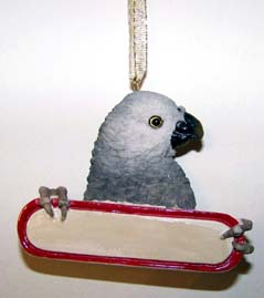 Ornament African Grey
