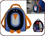 Insulated Penguin Backpack