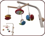 3 in 1 Crib Toys: From Mobile to Rattle & Grasping Toys (0 months+)