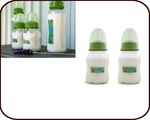 Glass Baby Bottles 4oz (set of 2)