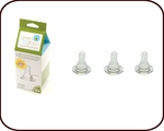 New Green to Grow colic-relief vented nipples