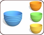 Snack Bowls (set of 4)