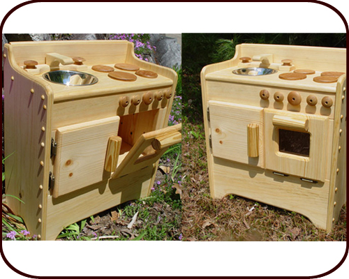 Willow Toys - Sandy's Wooden Play Kitchen