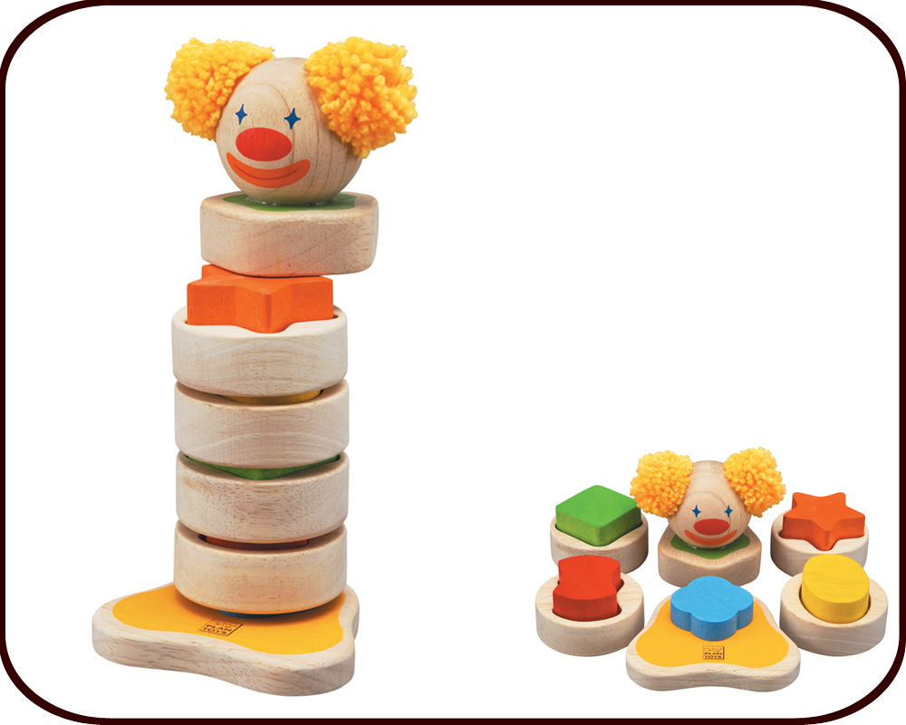 Stacking Clown (2 years+)