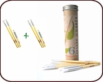 Bamboo Brushes Tube (set of 6)